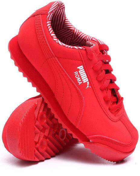 Puma - Boys Red Roma Nm Jr Sneakers (11-7) - $47.00