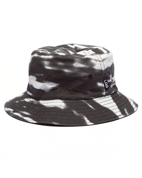 Lrg - Men Grey Angels & Demons Bucket Hat