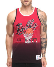 Men - Chicago Bulls Color Fade Tank