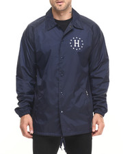 Men - HUF USA Coaches Jacket