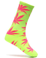 Men - Neon Plantlife Socks