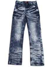 Sizes 8-20 - Big Kids - ACID CRINKLE WASH JEANS (8-20)
