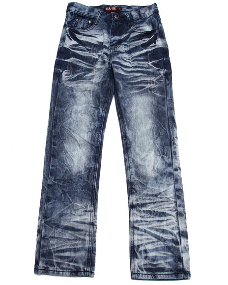 Arcade Styles Medium Wash Jeans