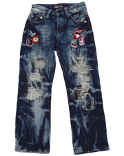 Boys - PATCHWORK JEANS (4-7)