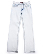 Sizes 8-20 - Big Kids - BLEACH WASH JEANS (8-20)