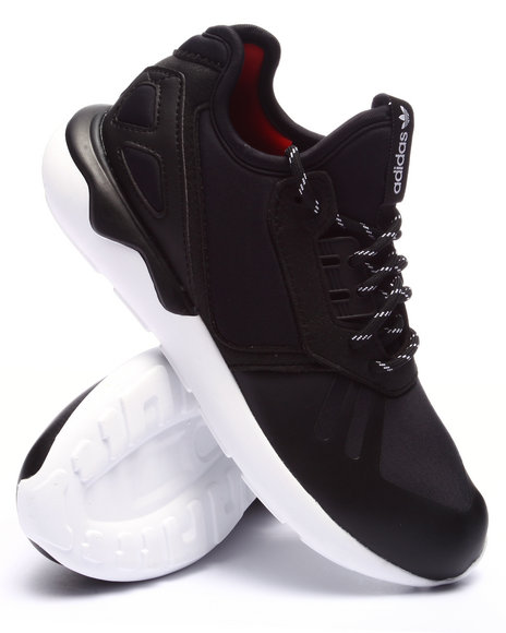 Adidas - Boys Black Tubular Runner Stripes K Sneakers (11-7)
