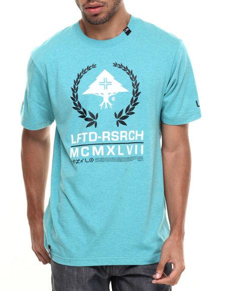 Ur-ID 224285 LRG - Men Teal Lftd Mcmxlvii T-Shirt