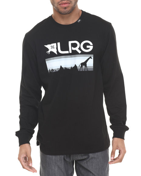 Lrg - Men Black Astro L/S T-Shirt