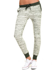 Women - Marled French Terry Jogger