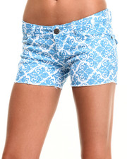 Women - All Over Print Shorts