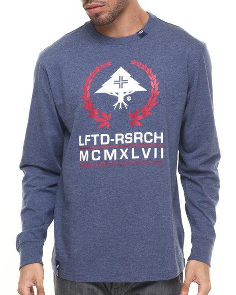 Ur-ID 224294 LRG - Men Blue Lftd Mcmxlvii L/S T-Shirt