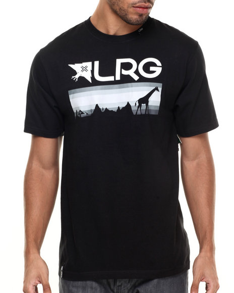 Lrg - Men Black Astro T-Shirt
