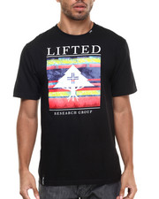 LRG - Fallen Leaves Stripe Block Up T-Shirt