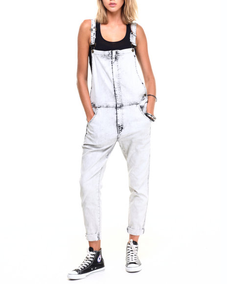 Ur-ID 224338 Lee Cooper - Women Black,Light Grey Overall W/Front Detail