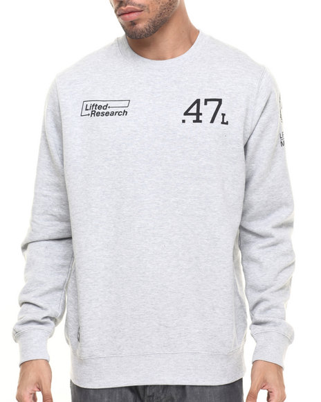 Ur-ID 224298 LRG - Men Grey The Message Sweatshirt
