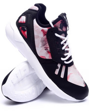 Footwear - Tubular Runner Hibiscus Stripes K Sneakers (3.5-7)