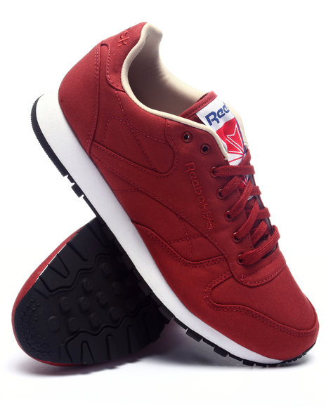 Ur-ID 224373 Reebok - Men Red Classic Leather Clean 60/40