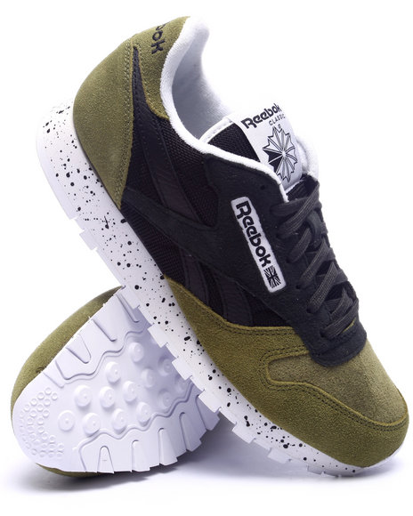 Ur-ID 224375 Reebok - Men Olive Classic Leather S M