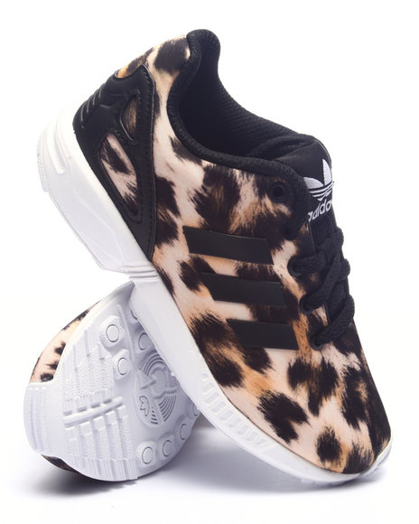 Adidas - Girls Animal Print Zx Flux Cheetah C Sneakers (11-3) - $60.00
