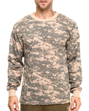 DRJ Army/Navy Shop - Rothco Long Sleeve Digital Camo T-Shirt