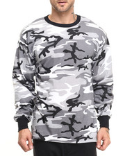 DRJ Army/Navy Shop - Rothco Long Sleeve Camo T-Shirt