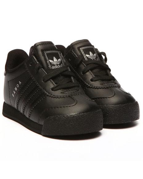 Adidas Boys Samoa Inf Sneakers (510) Black 5 Toddler