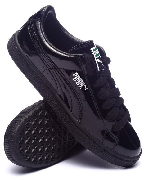 Ur-ID 224381 Puma - Women Black Basket Matte & Shine Sneakers
