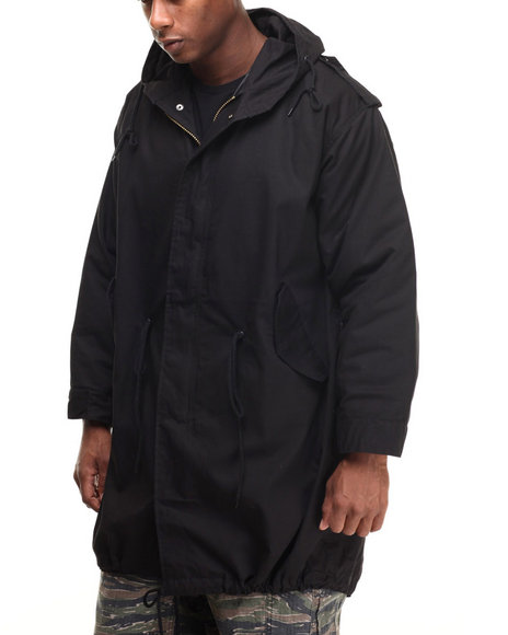 Ur-ID 224404 Rothco - Men Black Rothco M-51 Fishtail Parka by Rothco