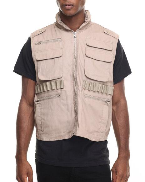 Ur-ID 224410 Rothco - Men Khaki Rothco Ranger Vests