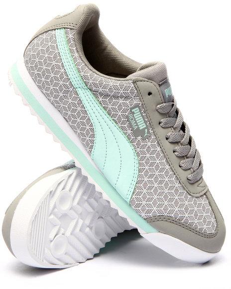 Ur-ID 224418 Puma - Women Grey Roma Kurim Sneakers