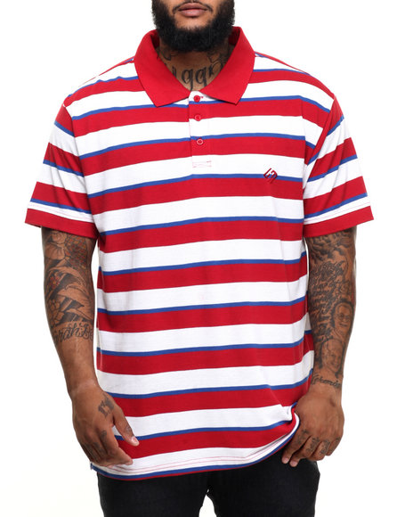 Enyce - Men Red James Pique Polo (B&T)