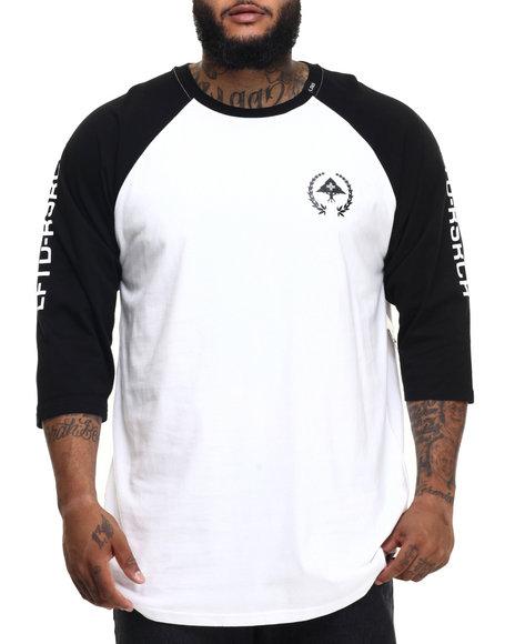 Ur-ID 224382 LRG - Men Black Rc Jersey Baseball T-Shirt (B&T)
