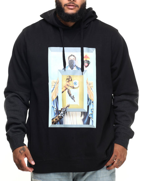Lrg - Men Black Find My Way Pullover Hoody (B&T)