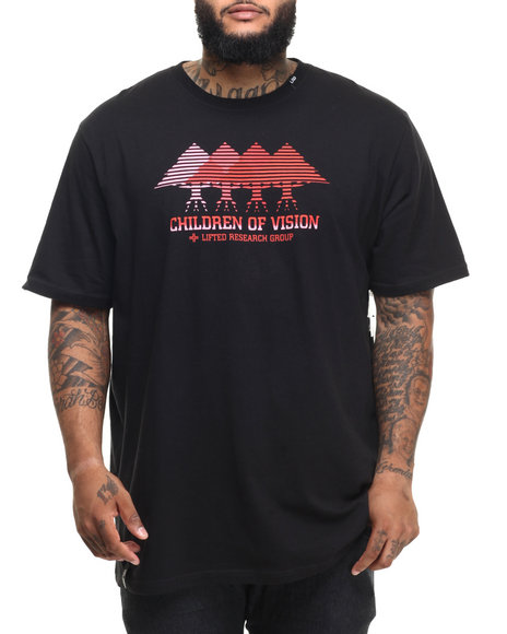 Ur-ID 224388 LRG - Men Black Children Of Vision T-Shirt (B&T)