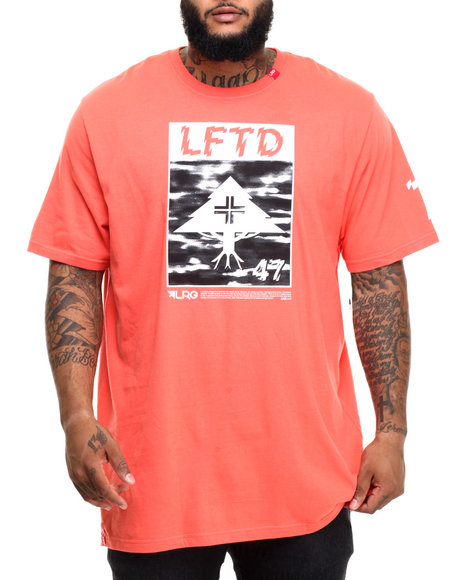 Lrg - Men Orange L-Luminati T-Shirt (B&T)