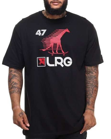 Lrg - Men Black Skate Giraffe Sport (B&T)