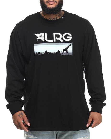 Lrg - Men Black Astro L/S T-Shirt (B&T)