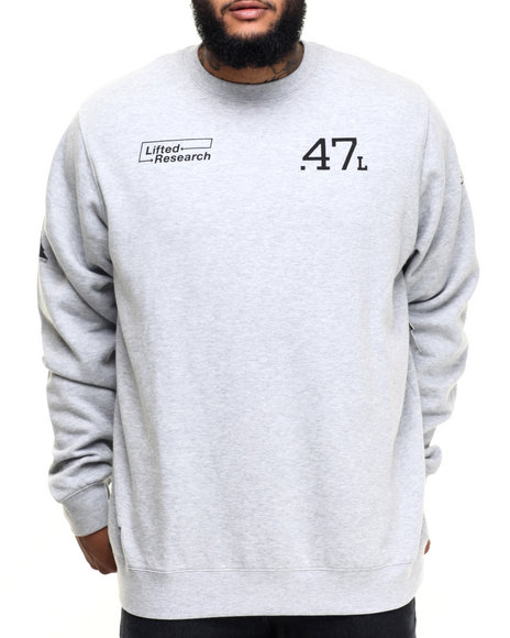 Lrg - Men Grey The Message Sweatshirt (B&T)