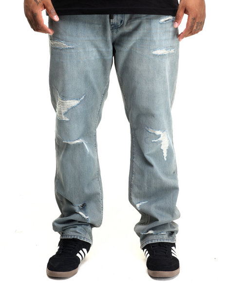Lrg - Men Vintage Wash Core True Straight Denim Jean (B&T)