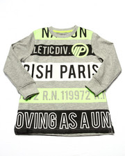 Boys - L/S VOLT GRAPHIC TEE (4-7)