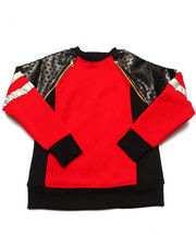 Boys - LUXE PANEL SWEATSHIRT (4-7)