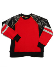 Boys - LUXE PANEL SWEATSHIRT (8-20)