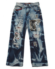 Arcade Styles - PATCHED DENIM JEANS (4-7)