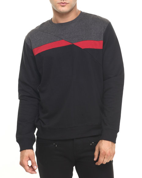 Ur-ID 224421 Buyers Picks - Men Black Dude Crew Pullover by Buyers Picks