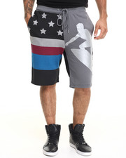 Shorts - Suicide Wave Drawstring Shorts