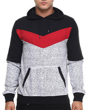 Buyers Picks - Color Block Crackle Hoodie