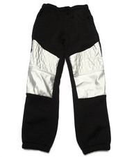 Sweatpants - METALLIC PANEL JOGGERS (8-20)