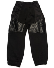 Bottoms - QUILTED PANEL JOGGERS (4-7)