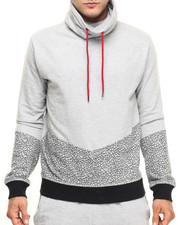 Buyers Picks - Cut & Sew Crackle Pullover