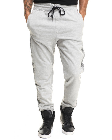 Buyers Picks - Men Grey Side Crackle Jogger - $19.99